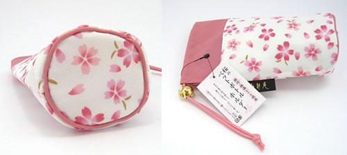 プレゼント|贈り物 桜巾着・ペットボトルホルダーとディフューザーのセット
