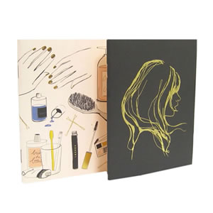 プレゼント|贈り物 スウェーデンショルダートート・ノートブックとワイヤーポーチのセット