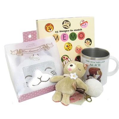 プレゼント|贈り物 メモリーゲーム・アリスマグ・カイロカバーのセット