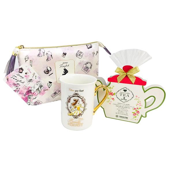 プレゼント|贈り物 ディズニープリンセスマグ&ポーチのセット